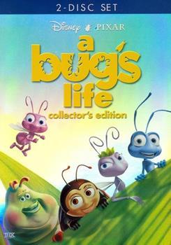 DVD A Bug's Life Book