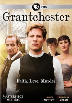 DVD Masterpiece Mystery: Grantchester Season 1 Book