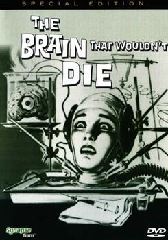DVD The Brain That Wouldn't Die Book