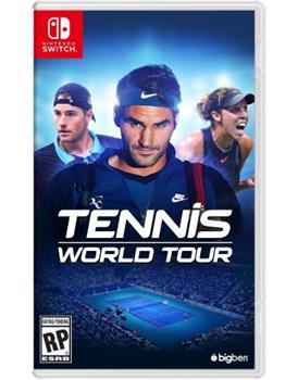 Game - Nintendo Switch Tennis World Tour Book