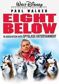 DVD Eight Below Book