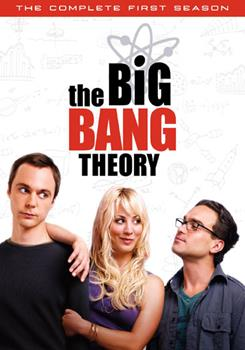 DVD The Big Bang Theory: The Complete First Season Book