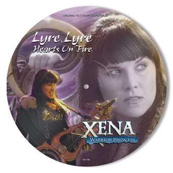 Vinyl Xena: Warrior Princess - Lyre, Lyre Hearts On Fire Book