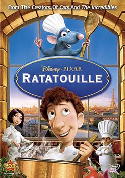 DVD Ratatouille Book