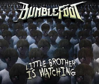 Vinyl Little Brother Is Watching Book