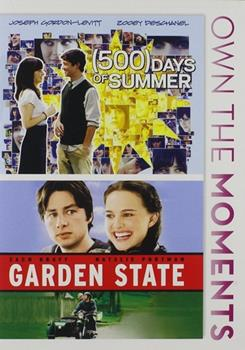 DVD Garden State/500 Days of Summer Double Feature Book