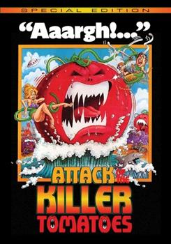 DVD Attack Of The Killer Tomatoes Book