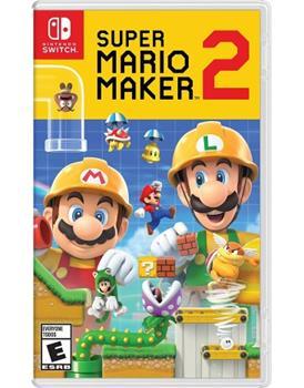 Game - Nintendo Switch Super Mario Maker 2 Book