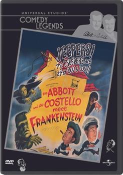 DVD Abbott And Costello Meet Frankenstein Book