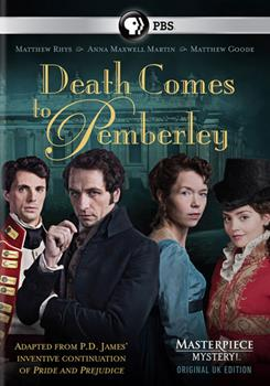 DVD Death Comes to Pemberley Book