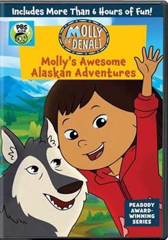 DVD Molly of Denali: Molly's Awesome Alaskan Adventures Book