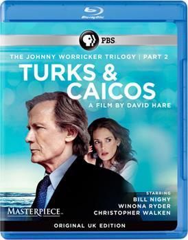 Blu-ray The Johnny Worricker Trilogy: Turks & Caicos Book