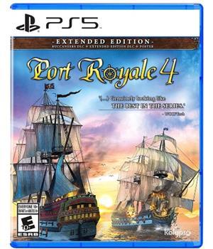 Game - Playstation 5 Port Royale 4 Book