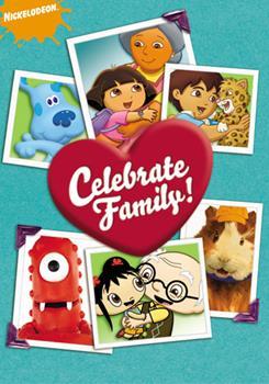 DVD Nickelodeon: Celebrate Family! Book