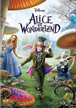 DVD Alice in Wonderland Book