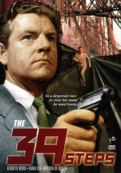 DVD The 39 Steps Book