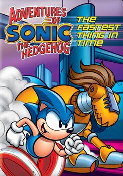 DVD Adventures of Sonic The Hedgehog: Fastest Thing In Time Book