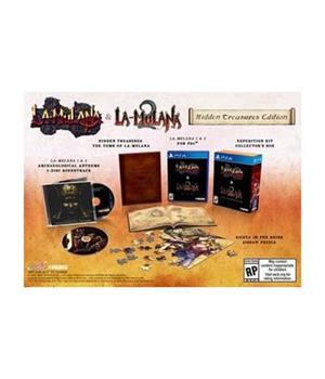 Game - Playstation 4 La-Mulana 1 & 2: Hidden Treasures Edition Book