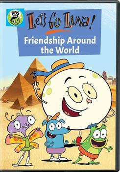 DVD Let's Go Luna: Friendship Around the World Book