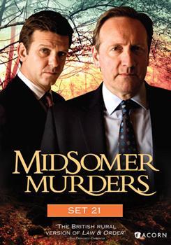 DVD Midsomer Murders: Set 21 Book