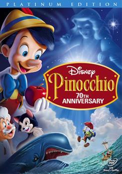 DVD Pinocchio Book