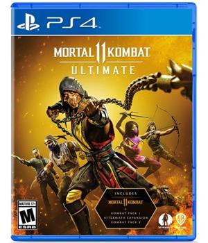 Game - Playstation 4 Mortal Kombat 11 Ultimate Edition Book