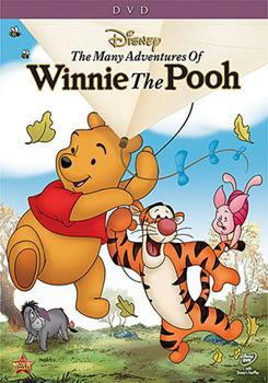 DVD The Many Adventures of Winnie the Pooh Book
