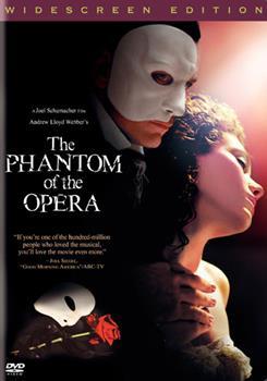 DVD Andrew Lloyd Webber's The Phantom of the Opera Book