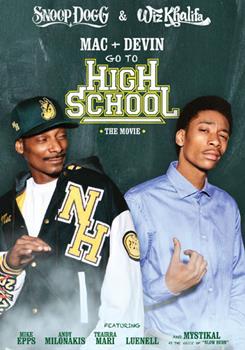 DVD Mac & Devin Go to High School Book