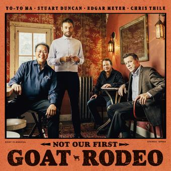 Vinyl Not Our First Goat Rodeo Book