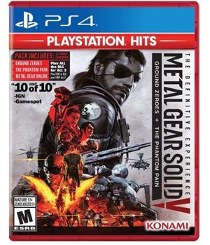 Game - Playstation 4 Metal Gear Solid V: Definitive Experience Playstation Hits Book