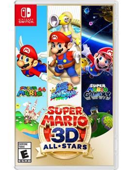 Game - Nintendo Switch Super Mario 3D All-Stars Book
