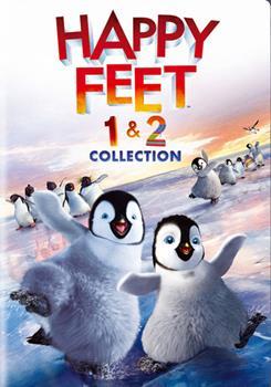 DVD Happy Feet / Happy Feet 2 Book