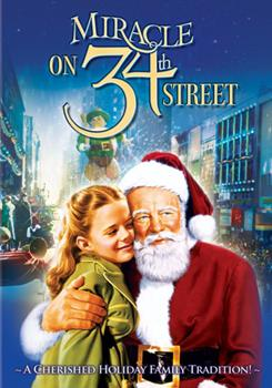 DVD Miracle on 34th Street Book