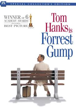 DVD Forrest Gump Book
