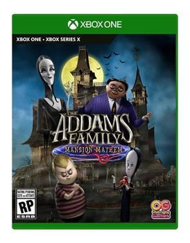 Game - Xbox One The Addams Family: Mansion Mayhem Book