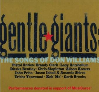 Music - CD Gentle Giants: The Songs Of Don Williams Book