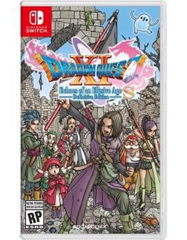 Game - Nintendo Switch Dragon Quest XI S: Echoes Of An Elusive Age-Definitive Edition Book
