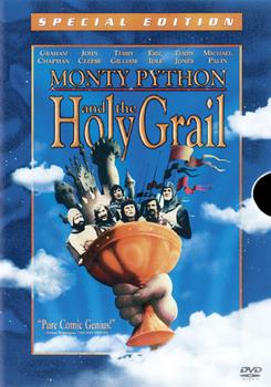 DVD Monty Python and the Holy Grail Book