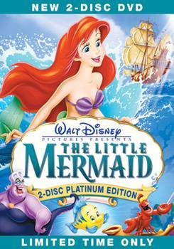 DVD The Little Mermaid Book