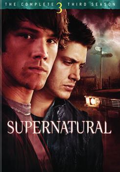 DVD Supernatural: The Complete Third Season Book