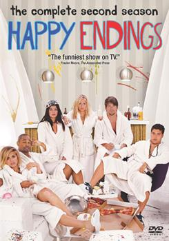 DVD Happy Endings: The Complete Second Season Book