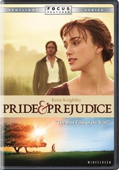 DVD Pride and Prejudice Book