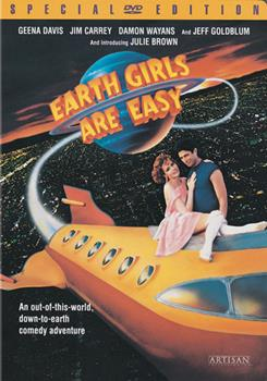 DVD Earth Girls Are Easy Book