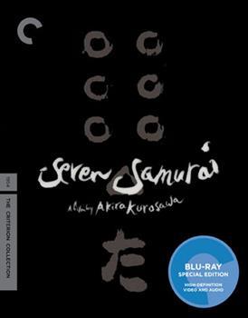 Blu-ray Seven Samurai Book