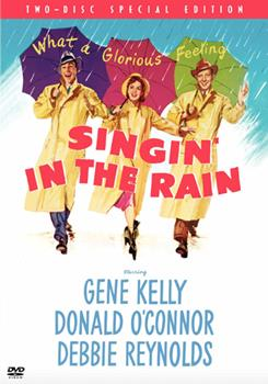 DVD Singin' In The Rain Book