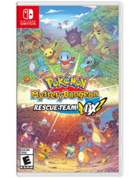 Game - Nintendo Switch Pokemon Mystery Dungeon Rescue Team DX Book