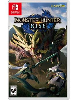 Game - Nintendo Switch Monster Hunter: Rise Book