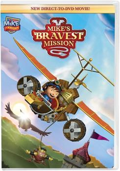 DVD Mike the Knight: Mike's Bravest Mission Book
