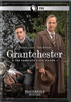 DVD Masterpiece Mystery: Grantchester Season 5 Book